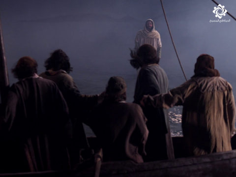 يسوع يمشي على الماء